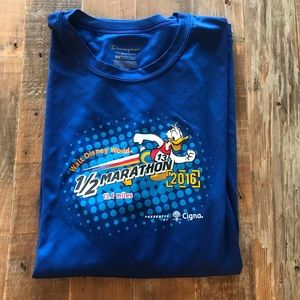 2016 Walt Disney World Half Marathon race shirt